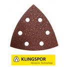 Klingspor driehoekschuurpapier GLS15 PS22K korrel 150 - 50 stuks