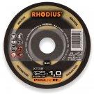 Rhodius doorslijpschijf XT38 125x1 mm.