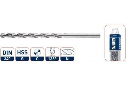 HSS-G Spiraalboren splitpoint, lang 1,0 mm