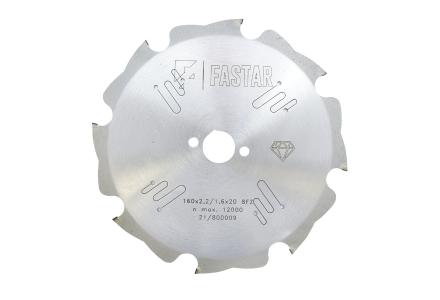 FASTAR HM diamant cirkelzaagblad 160x20x8