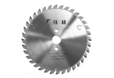 FASTAR HM cirkelzaagblad 160x20x36 WZ