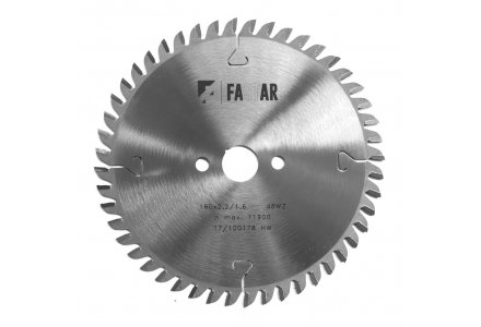 FASTAR HM cirkelzaagblad 160x20x48 WZ