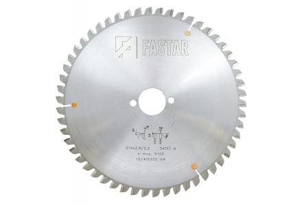 FASTAR HM cirkelzaagblad 210x30x54 TFZ N