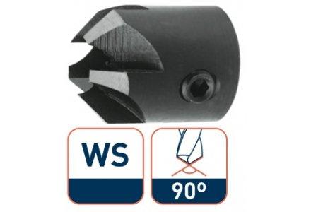 Rotec WS opsteekverzinkboor 8,0x20 5 snijkanten 90°
