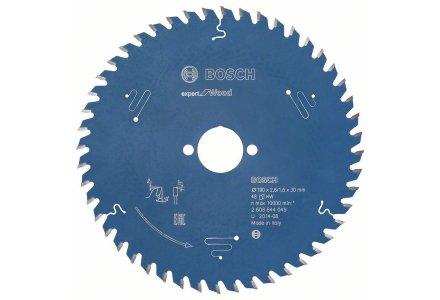 Bosch cirkelzaagblad Expert for Wood 190 x 30 x 2,6 mm 48 tanden