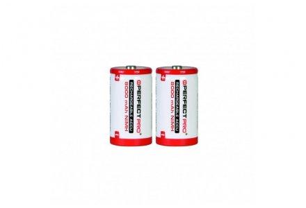 Perfectpro oplaadbare batterijen D 2 stuks (8000mAh)