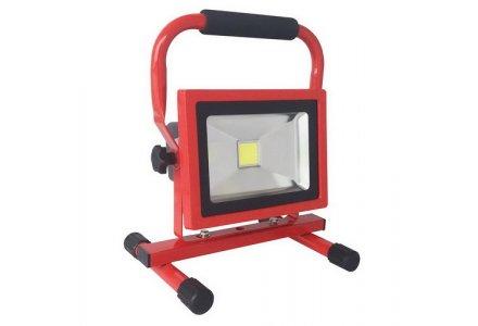Nova led straler / bouwlamp oplaadbaar 20 Watt 1400 lumen 4000K