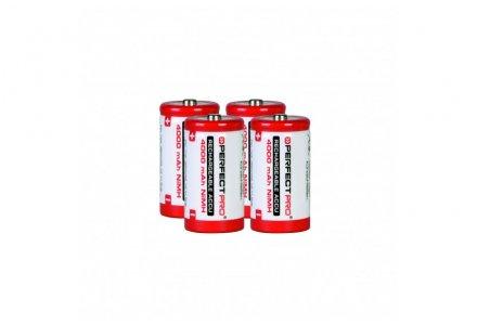 Perfectpro oplaadbare batterijen C 4 stuks (4000mAh)