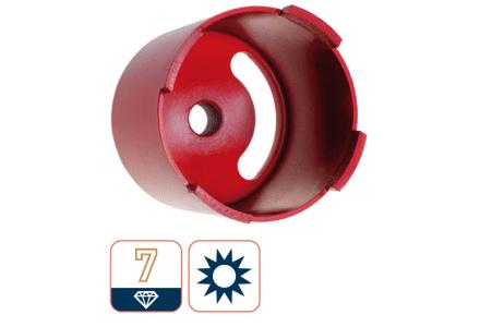 Dozenboor premium, 82mm (achter sleuven)