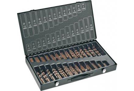 Rotec 202 delige HSS-Co cobalt splitpoint spiraalboren in koffer