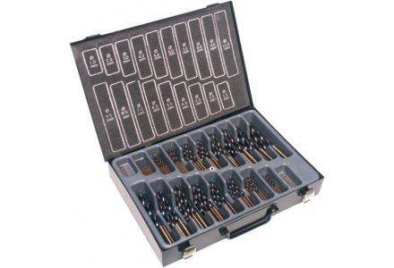 Rotec 170 delige HSS spiraalboren Precise in koffer