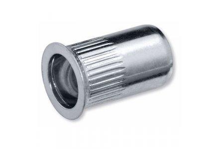 Blindklinkmoeren M5 ALU klembereik 1,5 - 4,0 mm. 500 stuks