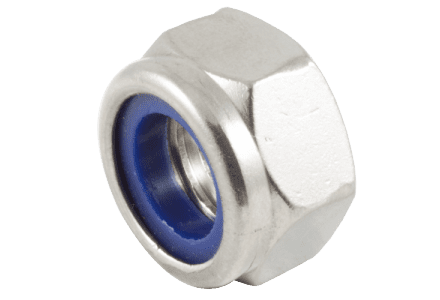 Borgmoeren RVS A2 DIN 985 M10 - 100 stuks