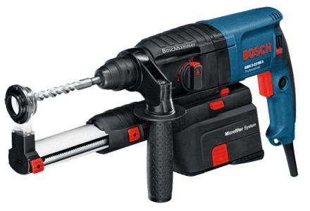Bosch GBH 2-23 REA boorhamer met stofafzuiging