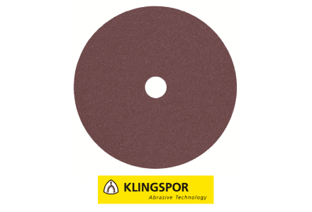 Klingspor fiberschijven universeel - CS 561 Ø 125x22 mm korrel 16