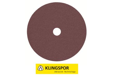 Klingspor fiberschijven universeel - CS 561 Ø 125x22 mm korrel 80
