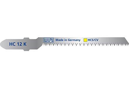 Decoupeerzagen Wilpu HC 12 K voor zagen van bochten (1,5 - 15mm)