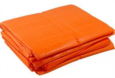 Dekkleed 6x8 meter - oranje