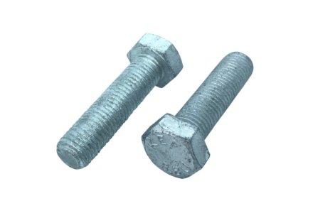 Zeskanttapbouten DIN 933 thermisch verzinkt 8.8 M8x30 - 200 stuks