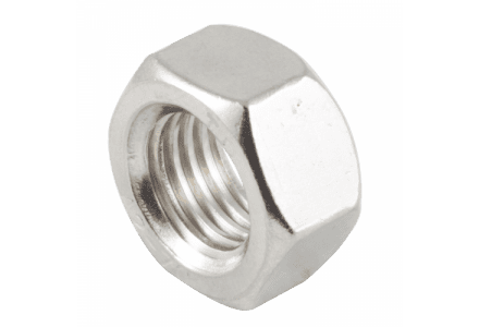 Moeren RVS A2 DIN 934, M20 / 25 stuks
