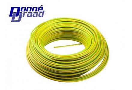 VD draad Donné 2.5mm² geel groen 100 meter