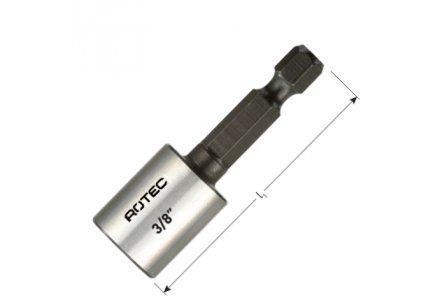 Rotec dopsleutel bit 10mm magnetisch