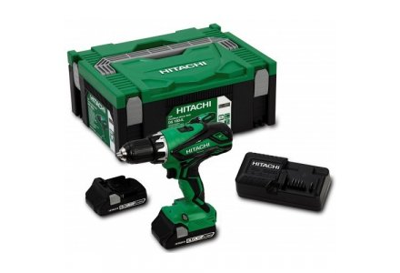 HITACHI DS18DJL Accuboormachine 18VOLT 3.0AH in systainer