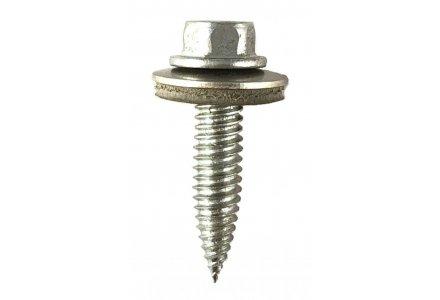 Dunblikschroeven bi-metaal met EPDM ring 6x25 - 100 stuks