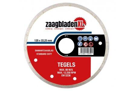 Zaagbladenxl diamantzaagblad voor tegels 125mm