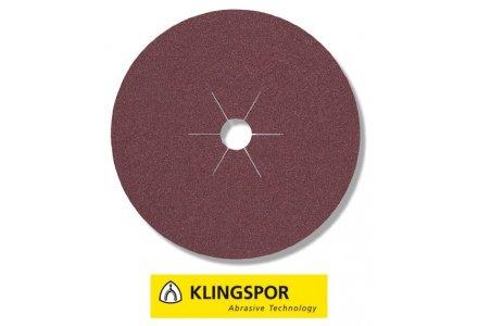 Klingspor fiberschijven universeel - CS 561 Ø 125x22 mm korrel 30