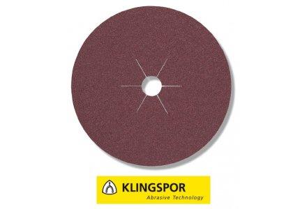 Klingspor fiberschijven universeel - CS 561 Ø 180x22 mm korrel 100