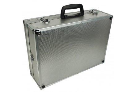 Aluminium gereedschapskoffer leeg