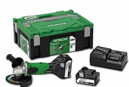 Hitachi accu slijper G18DSL(WU) 18Volt 5.0Ah
