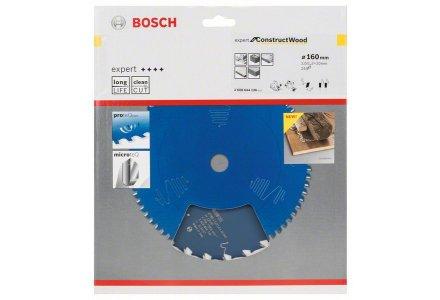 Bosch cirkelzaagblad Expert for Construct Wood 160 x 20 x 2,0 mm 24 tanden