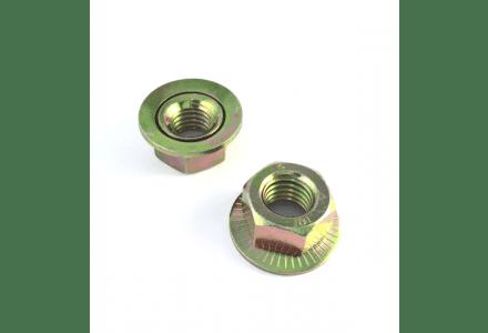 Combimoeren / ring M12 verzinkt 100 stuks