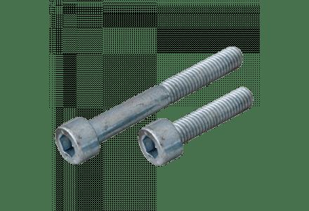 Inbusbouten cilinderkop 4x8 - 200 stuks