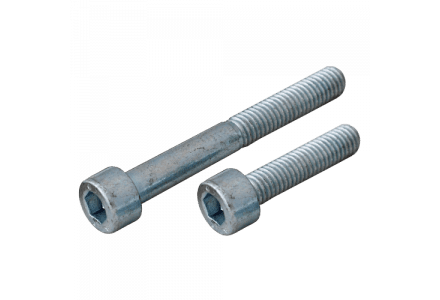 Inbusbouten cilinderkop 5x6 - 200 stuks