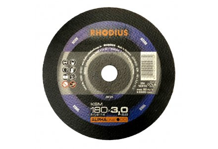 Rhodius afbraamschijf KSM 180x7mm.