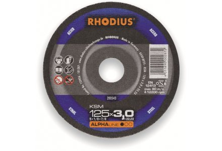 Rhodius KSM doorslijpschijf 180x3 mm