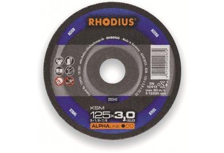 Rhodius KSM doorslijpschijf 230x3 mm staal