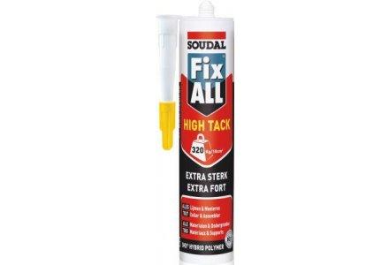 Soudal Fix all High Tack - zwart 290ml