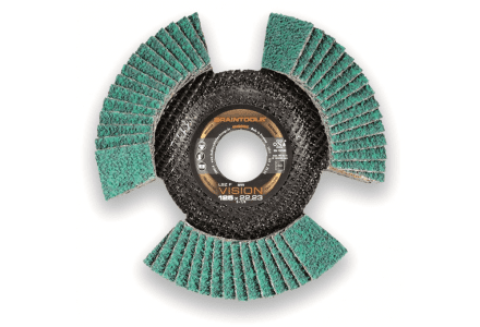 Rhodius LSZ F vision 125mm K40 lamellenschijf - 10 stuks
