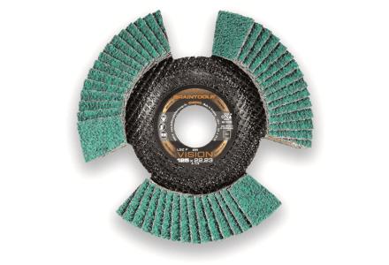 Rhodius LSZ F vision 125mm K60 lamellenschijf - 10 stuks