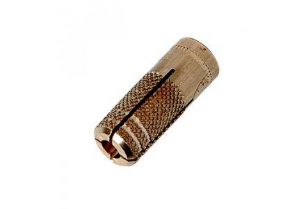 Messing pluggen / spreidpluggen 6x16 200 stuks