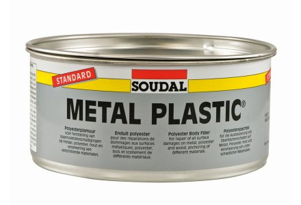 Soudal Metal Plastic - Polyesterplamuur standard