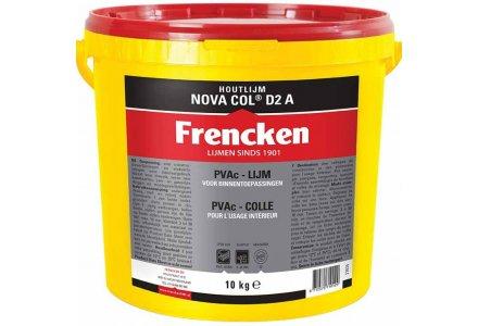 Frencken houtlijm Nova Col D2 A 10kg.