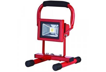 Nova led straler / bouwlamp oplaadbaar 10 Watt 700 lumen