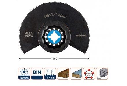 Multizaagblad Starlock hout/metaal Ø 100 mm