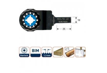 Multizaagblad Starlock hout/metaal 10 mm