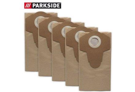 Parkside stofzakken PNTS 1500 en 1400 - 5 stuks